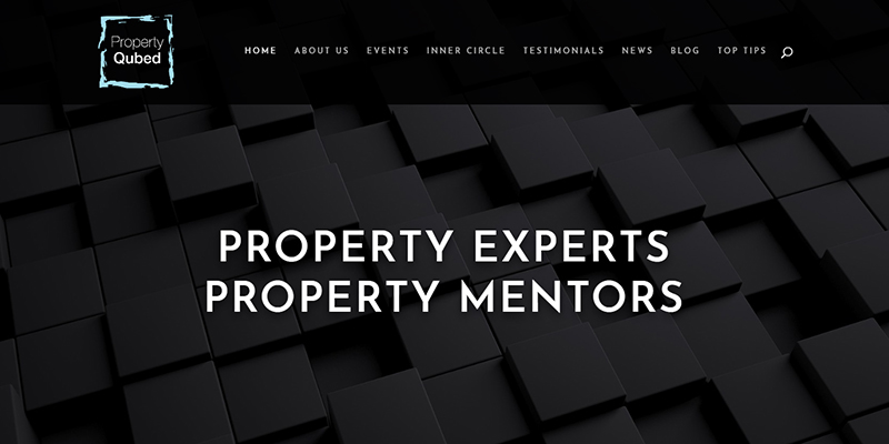 Property Qubed - Property Mentor website and SEO Services